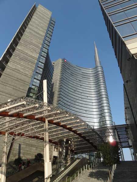 I nuovi grattacieli porta nuova garibaldi gibart - Da porta garibaldi a milano centrale ...