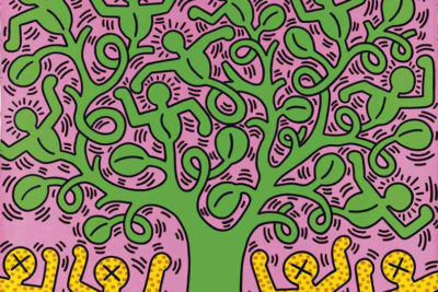 keith haring tree of life