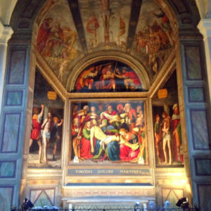 Bernardino Luini a San Giorgio Al Palazzo