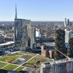 Palazzo Lombardia vista 39esimo piano